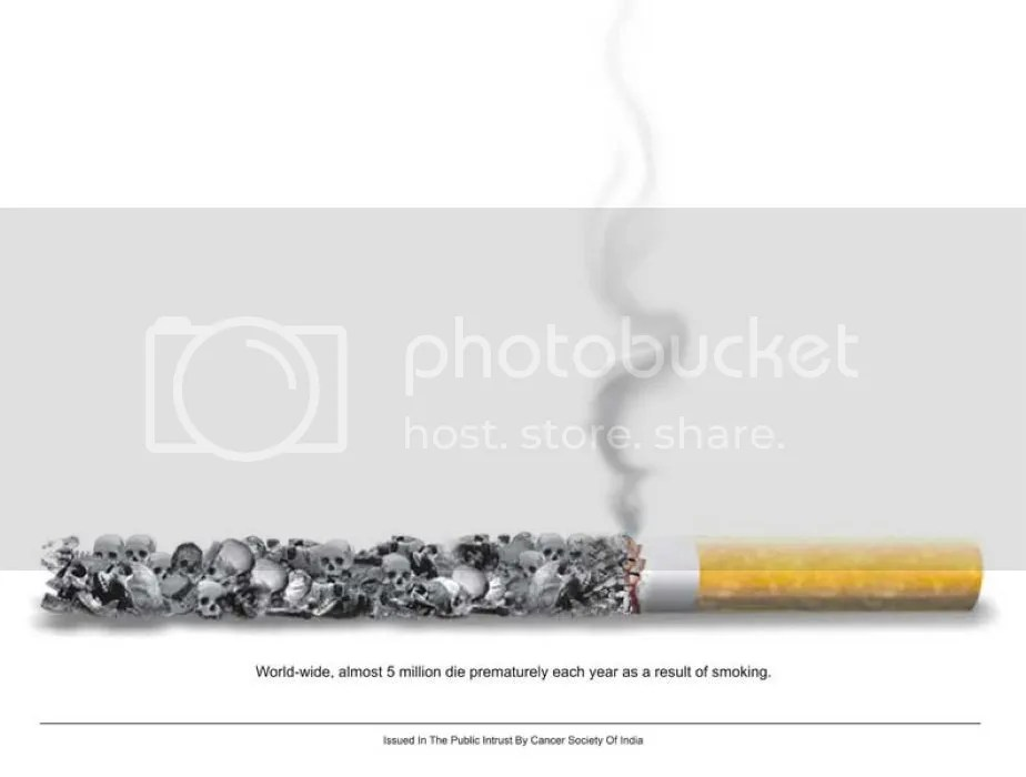 smoking ad