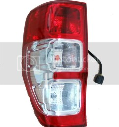 left side ford ranger tail light rear lamp wildtrak xl xlt px t6 rh ebay com au basic tail light wiring tail light wiring schematic [ 848 x 1024 Pixel ]