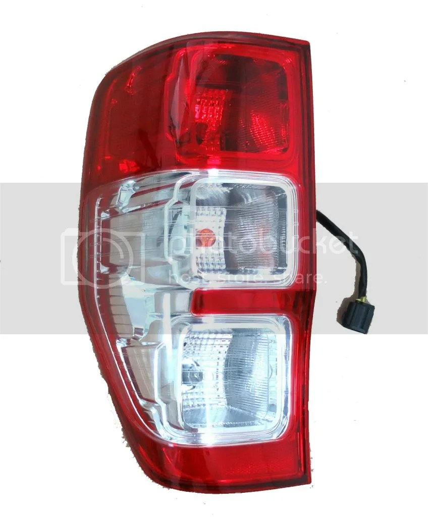 medium resolution of left side ford ranger tail light rear lamp wildtrak xl xlt px t6 rh ebay com au basic tail light wiring tail light wiring schematic