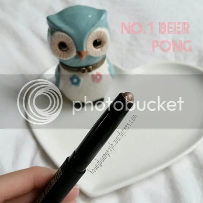 CLIO Gelpresso Eyeshadow Beer Pong