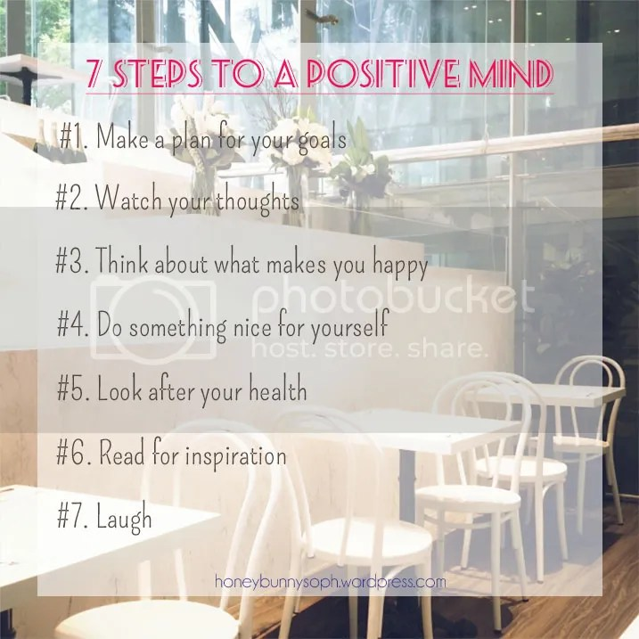 7 Steps to a positive mind