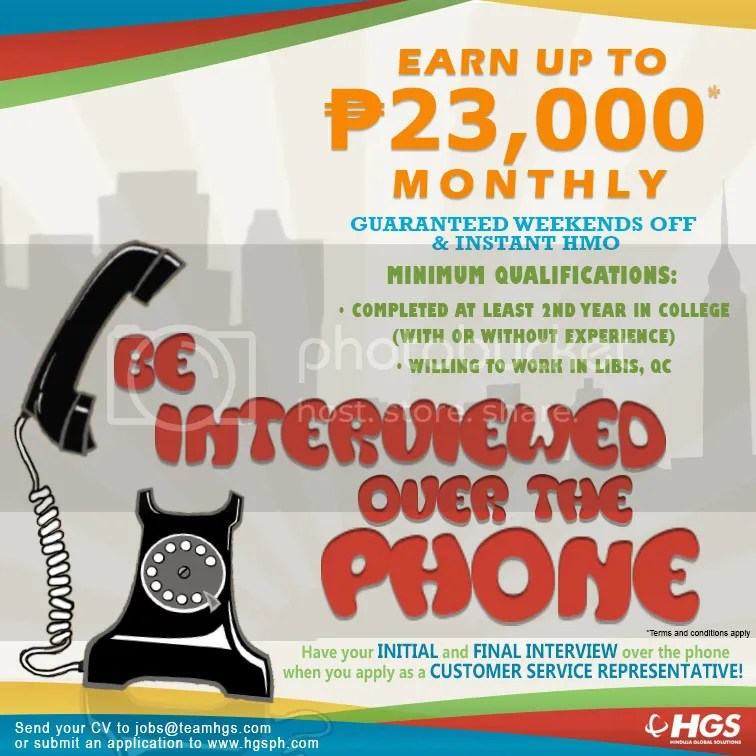 Call Center and BPO Job Openings (Voice and Non-Voice) Thread 2 ...