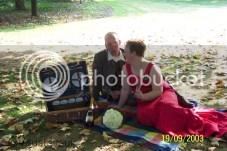 12,5 jaar getrouwd... mooi, warm weer!