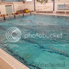 Zoals elk weekend... tijd om te zwemmen op zaterdag!