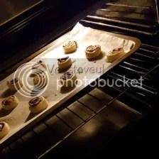 Ik maakte mini chocoladebroodjes voor in de lunch van de meiden!