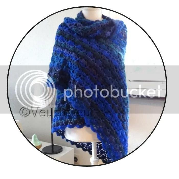 Juffencadeau southbay omslagdoek blauwe fenna