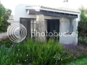 Het gereserveerde huisje in Carvoeiro