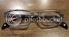 Twee de gewone bril voor de oudste