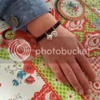 MieToe armbandje bij één van mijn dochters, prachtig!