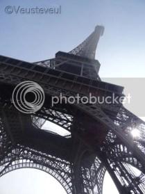 Parijs, de Eiffeltoren!