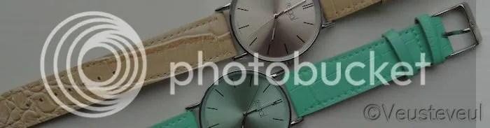 Regal horloge of eigenlijk twee! Gekocht bij Lucardi