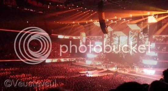 Het licht en de show.... magisch!