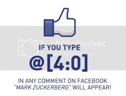 delen op facebook - Deze code zou betekenen dat je niet gehackt bent omdat het de code van Mark Zuckerberg zou zijn.