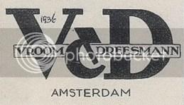 Heel oud v&d logo!