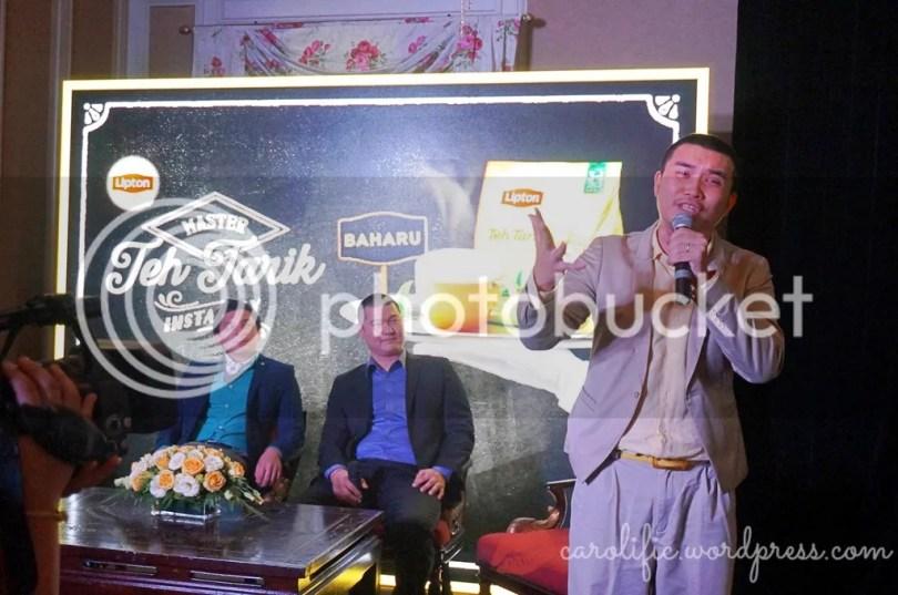 Lipton, Teh Tarik, Hazelnut, Instant, Milk Tea, Teh Halia, Carcosa Seri Negara, Event, Ginger Milk Tea, Ginger Tea