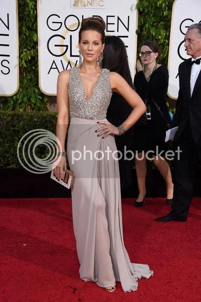 Kate Backinsale, Golden Globes, 2015