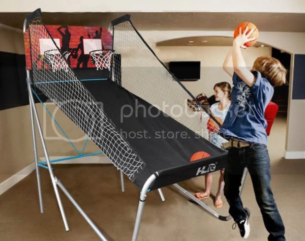 Indoor Sports Double Shot Led Electronic Basketball Hoops