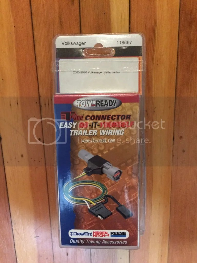 medium resolution of for sale tow ready trailer wiring harness for 2005 2010 mkv jetta part