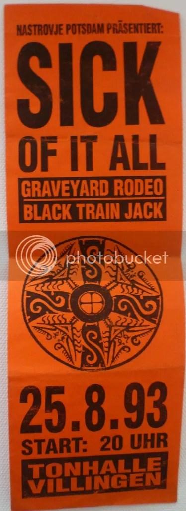003 Sick Of It All, Graveyard Rodeo, Black Train Jack - Tonhalle Villingen photo soia graveyard rodeo 1993_zps0tralpyk.jpg