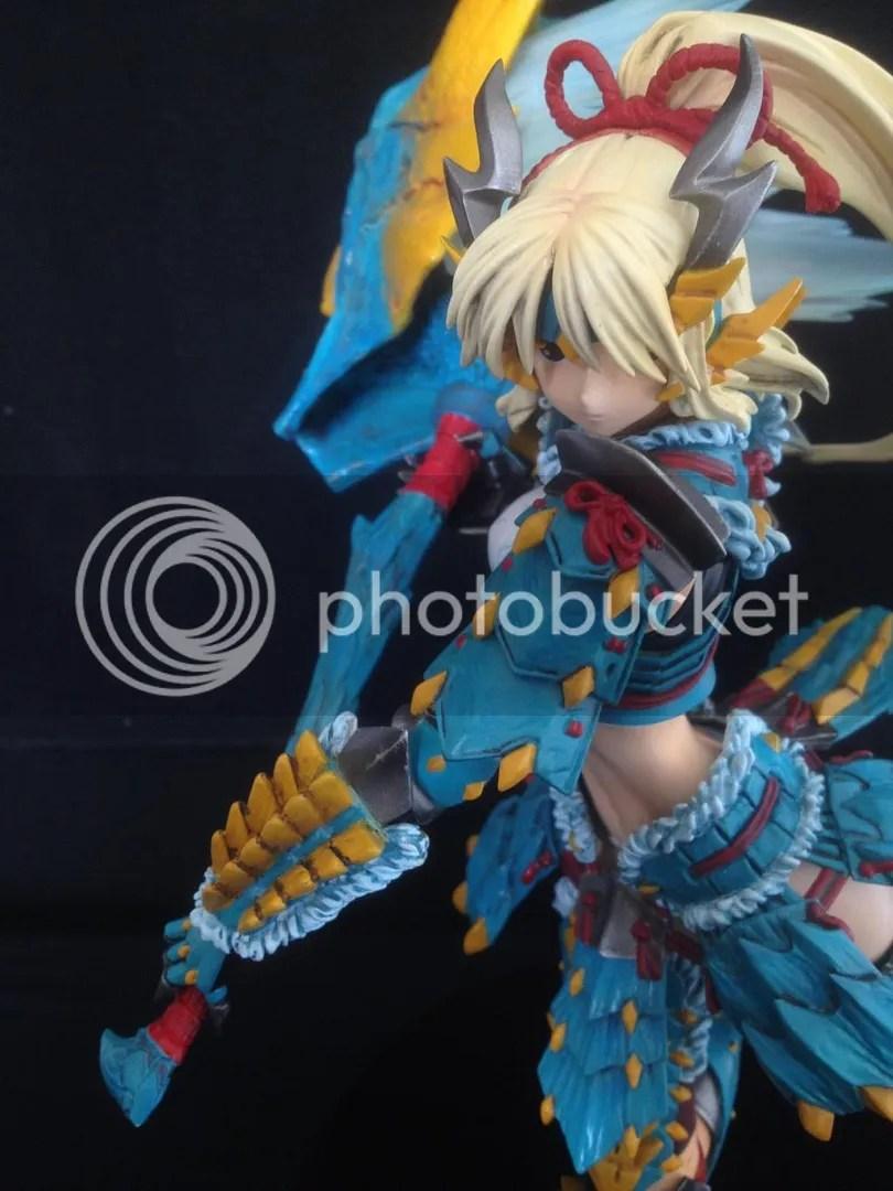 香港模型同好會: Monster Hunter 雷狼龍裝 by 叻啦叻啦叻啦
