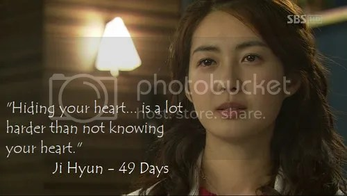 Korean Drama Quote from 49 Days