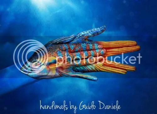 Handimals by Guido Daniele