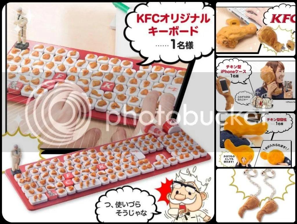 Kentucky Fried Chicken Accessories in Japan