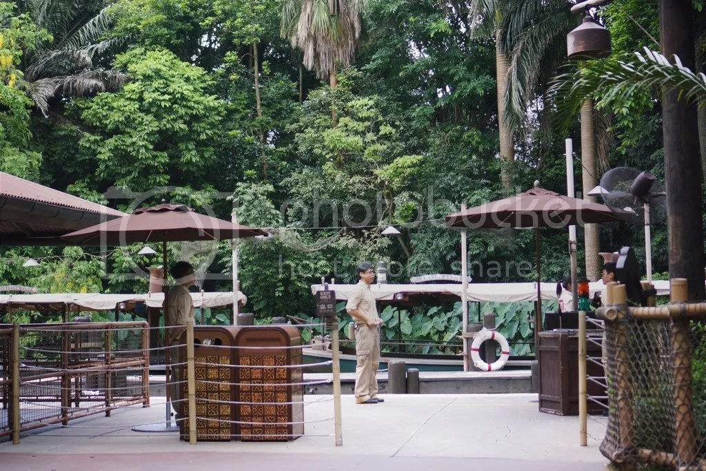 Tarzan Land in Hongkong Disneyland