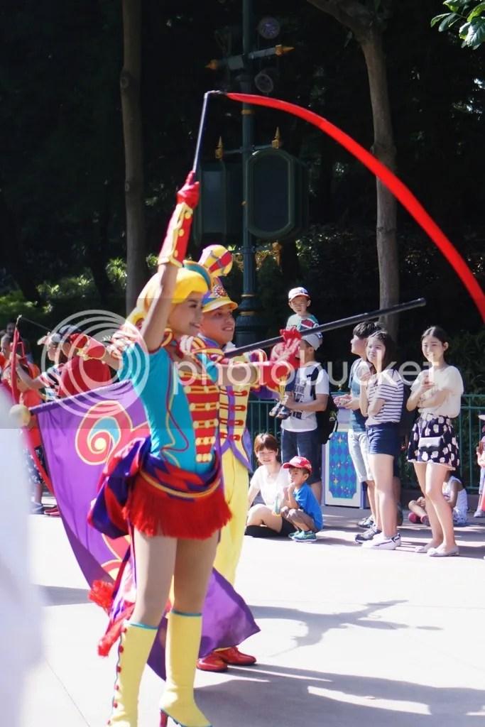 Hongkong disneyland parade