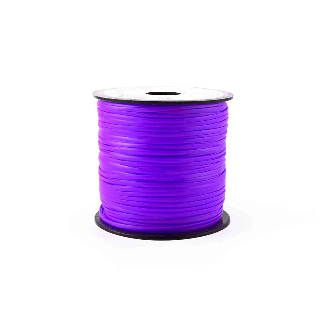Neon Purple Plastic Craft Lace Lanyard Gimp String Bulk 100 Yard Roll Ebay