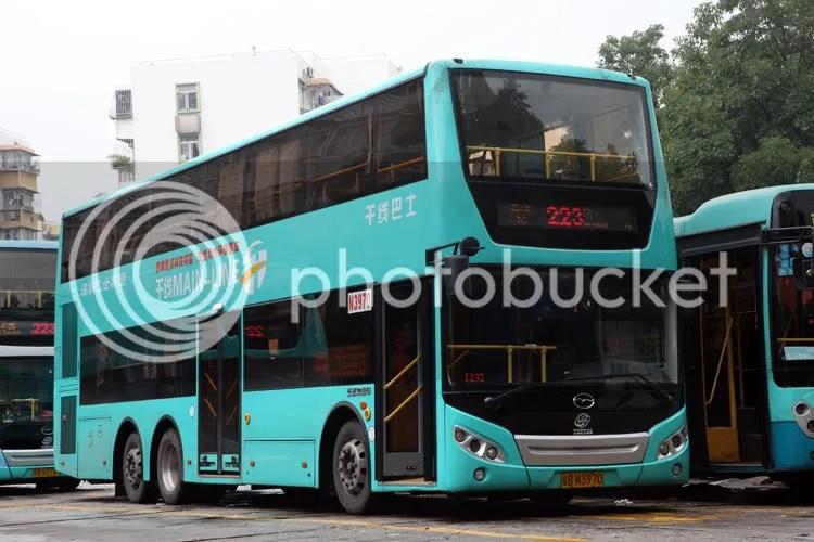 深圳五洲龍F500混合動力雙層巴士 - 兩岸三地巴士 (B4) - hkitalk.net 香港交通資訊網 - Powered by Discuz!