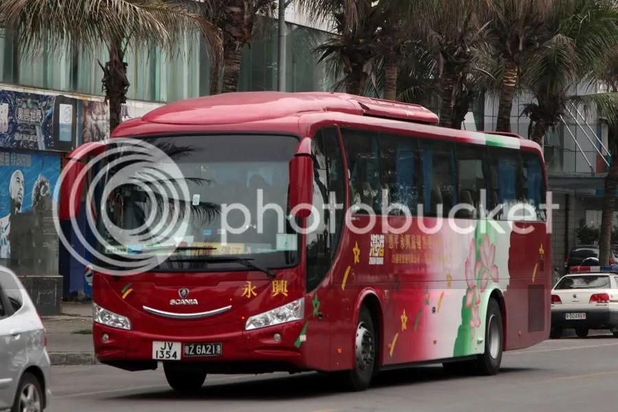 [乘車報告] 湛港旅運 (九龍 湛江) - 旅遊巴士及過境巴士 (B6) - hkitalk.net 香港交通資訊網 - Powered by Discuz!