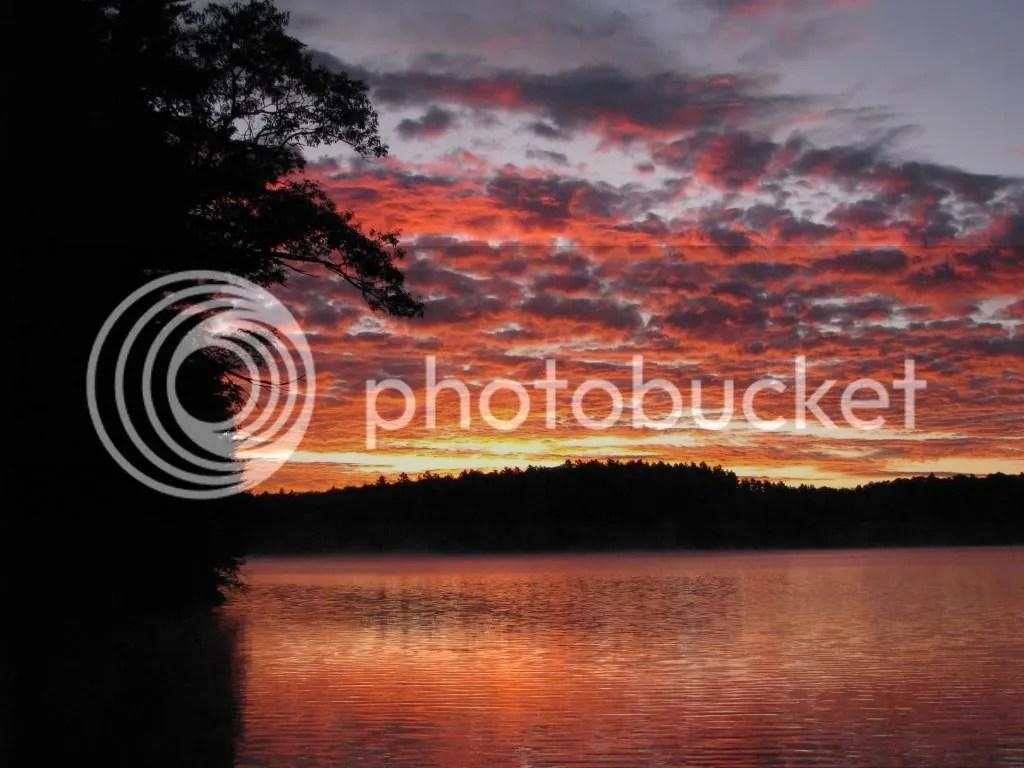 A beautiful 6AM sunrise