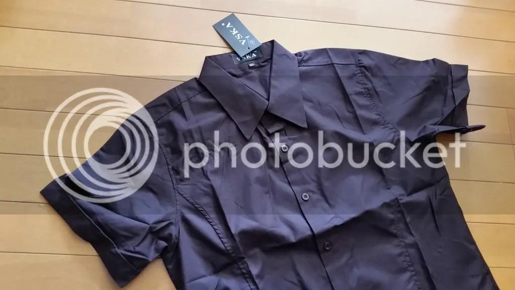 はっきり長袖のシャツを注文しているのに半袖のを送ってくる。さすがAliExpress。