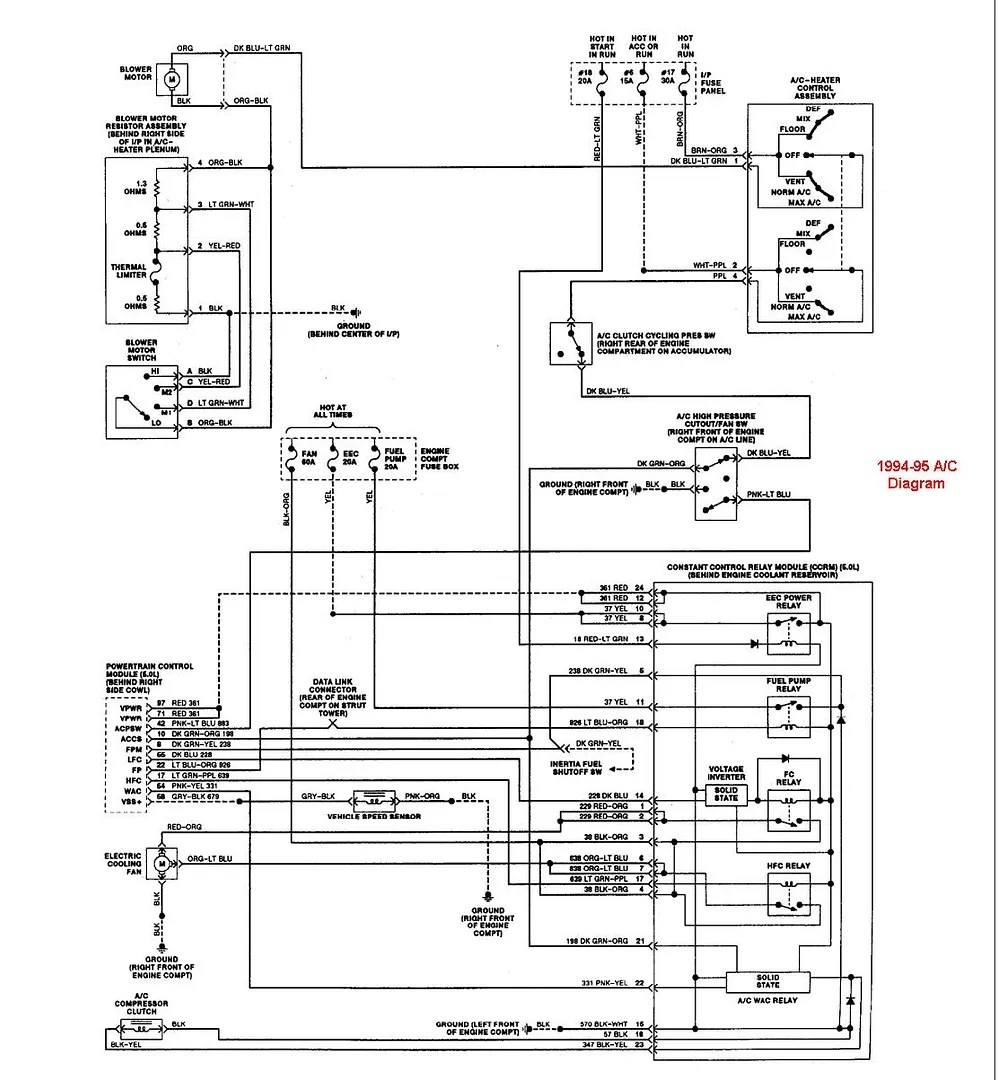 medium resolution of 2000 ford mustang engine diagram forumscorralnet forums 505 1995 mustang gt ccrm wiring diagram