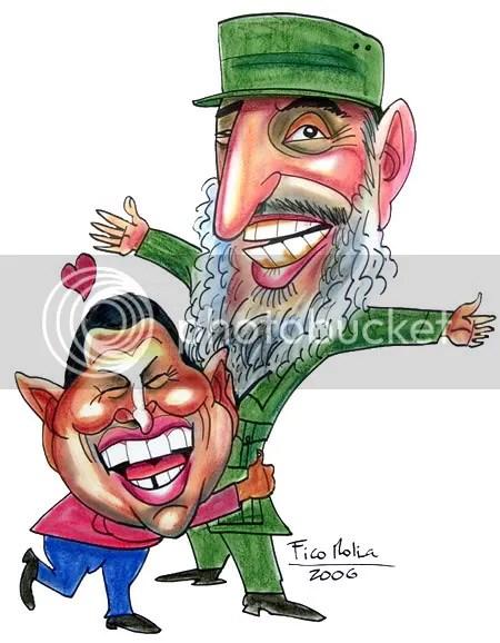 Hugo y Fidel