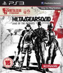 Metal Gear Solid 4 podría celebrar el 25 aniversario de la saga con una edición especial