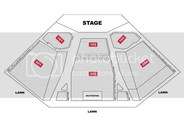 comcast theatre seating chart hartford