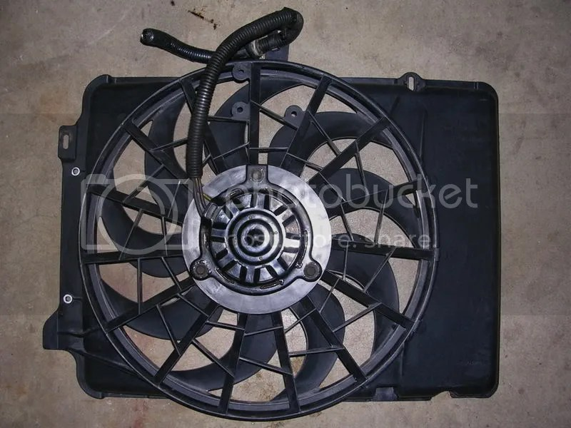 Ford Taurus Electric Fan Install With Volvo 2 Speed Controller