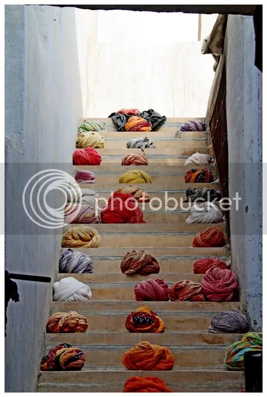 A turban staircase