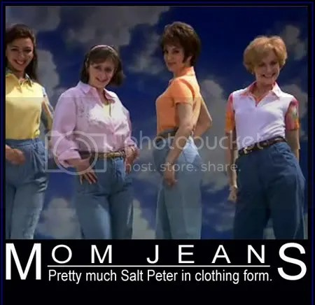 Mom Jeans - A blight on fashion