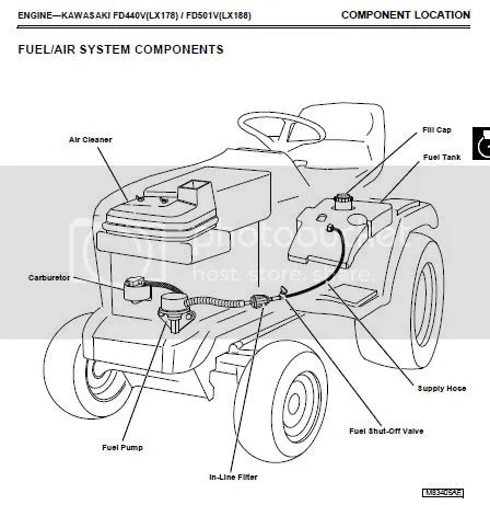 John Deere Lawntractor Lx172, To Lx188 Repair Manual Cd
