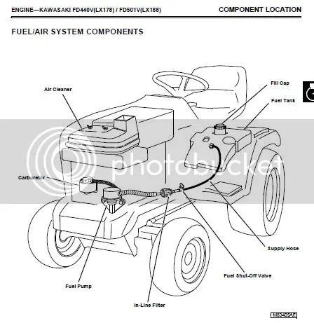 John Deere LawnTractor LX172, to LX188 repair manual cd
