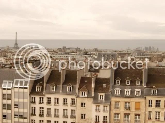 Les appartements en face de Beaubourg - hiver 2007