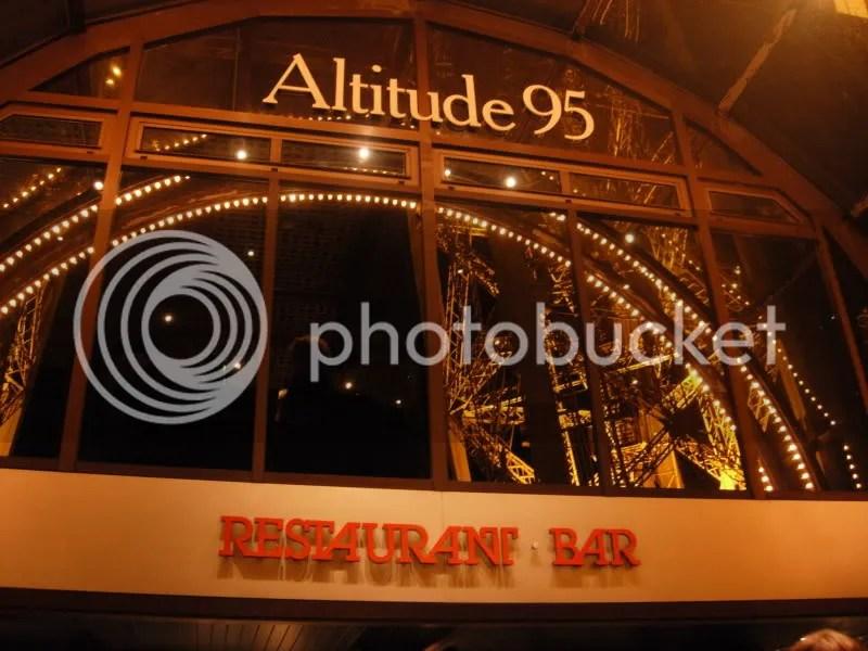 Restaurant sur la Tour Eiffel - Thanksgiving Dinner - novembre 2006