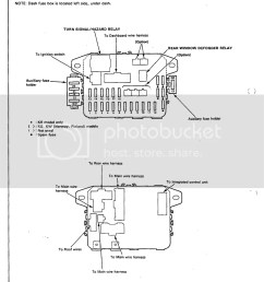 1990 honda civic fuse diagram manual e book 90 civic fuse box diagram 1990 honda civic [ 1626 x 2105 Pixel ]