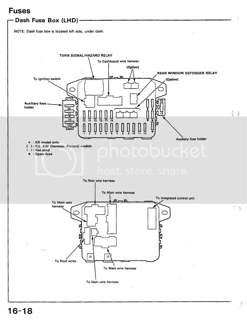 hight resolution of 1990 honda civic fuse diagram manual e book 90 civic fuse box diagram 1990 honda civic