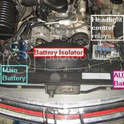 Dual Battery Isolator Wiring Diagram Boat Advantages Of Cause And Effect Under Hood Batteries Free For You Dodge 2001 1500 Fisher Plow Switch Motorhome