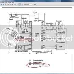 Pioneer Avic N2 Wiring Diagram 2 Ird Swm Single 92 Es300 N3 Install Speed Sensor Leads