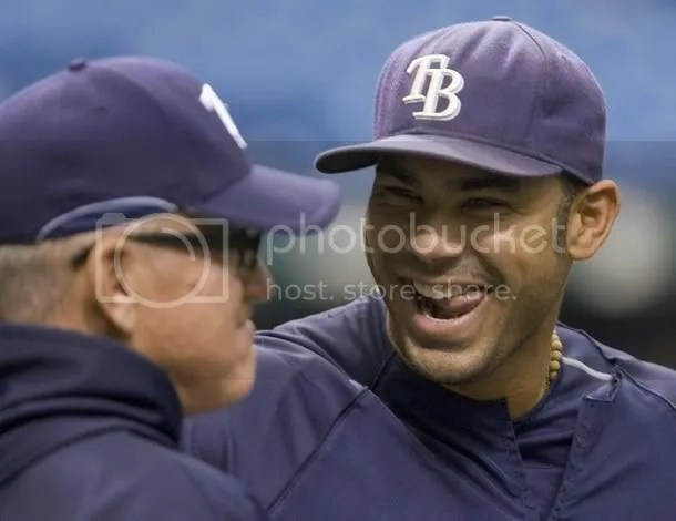 Awww, Carlos Pena. How cute. Too bad nobody has passion for his team yet.